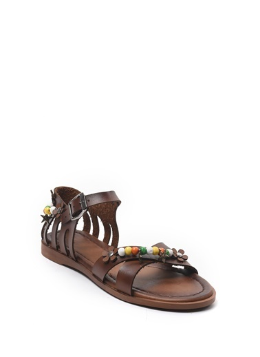 Sapin Sandalet Taba
